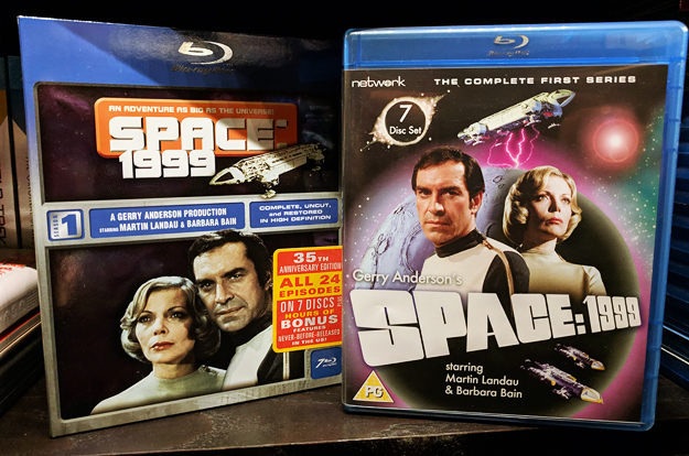 Space: 1999 on Blu-ray (US and UK Season One sets)