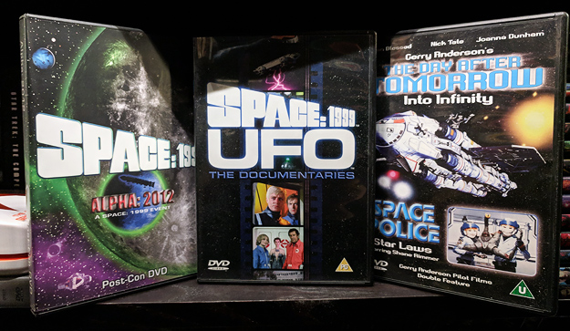 Post-Con 2012, Space: 1999/UFO Documentaries, The Day After Tomorrow/Space Police (DVDs)