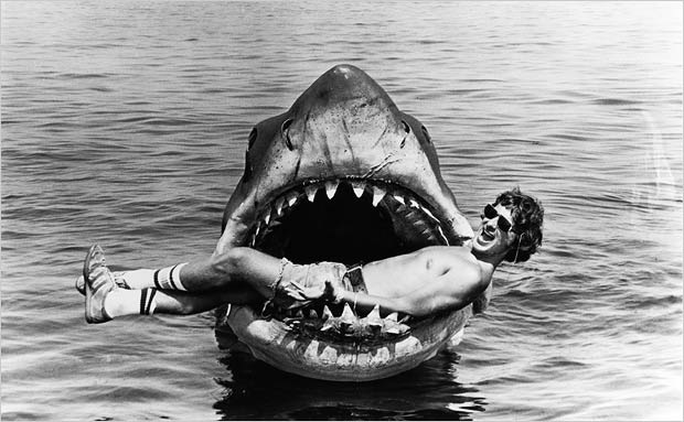 "Steven Spielberg and ""Bruce"""