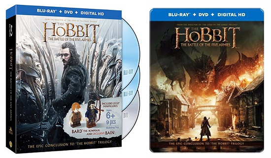 The Hobbit: The Battle of the Five Armies - Retail exclusive BDs