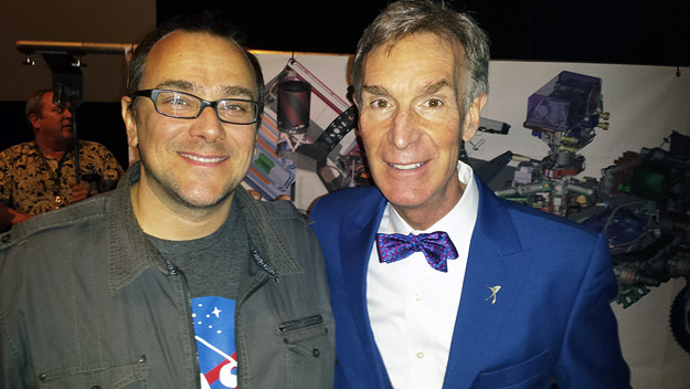 Bill Hunt of The Bits with Bill Nye the Science Guy