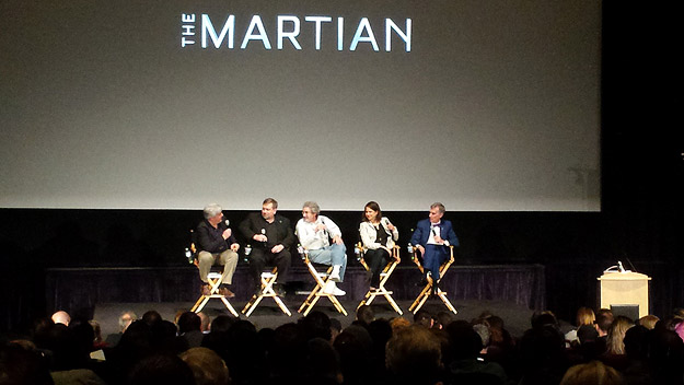 Mars 101 panel with NASA scientists moderated by Bill Nye