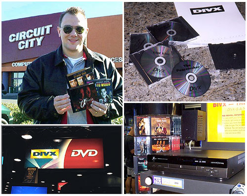 Pix from The Bits' coverage of Divx in 1998.