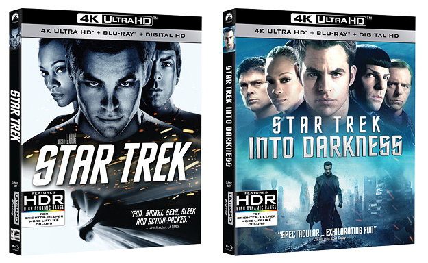 Star Trek (2009) & Star Trek Into Darkness (4K Ultra HD Blu-ray)