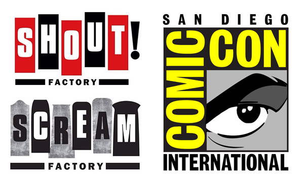 Shout! Factory & Scream Factory at Comic-Con