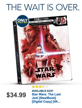 Best Buy Last Jedi ad