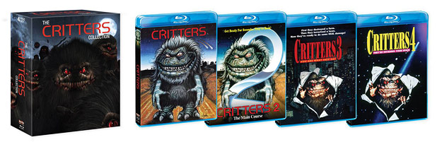 The Critters Collection (Blu-ray Disc)
