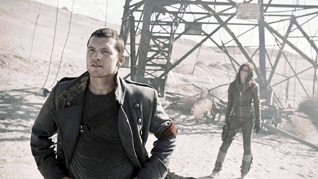 A scene from Terminator Salvation