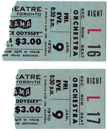 2001: A Space Odyssey roadshow tickets