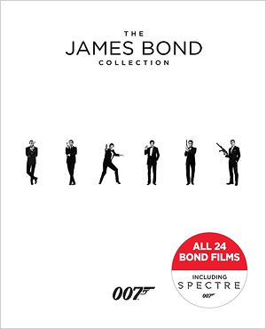 The James Bond Collection (Blu-ray Disc)