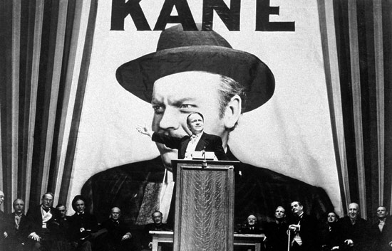 A classic still from Citizen Kane