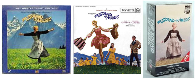 Sound of Music soundtrack CDs and VHS release