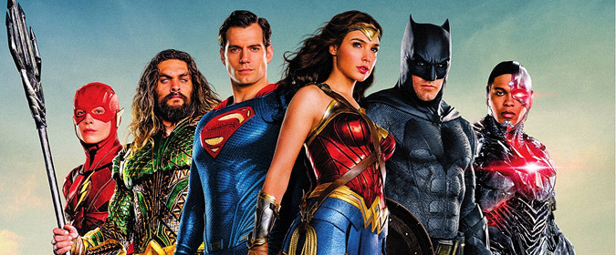 Warner Bros & DC set Justice League for Blu-ray, DVD, Blu-ray 3D & 4K Ultra HD on 3/13