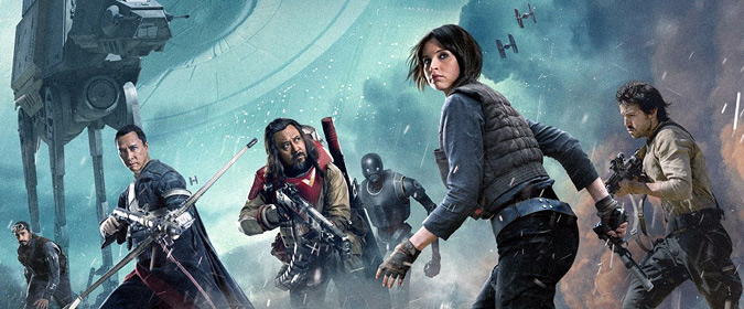 Disney & Lucasfilm finally set Rogue One: A Star Wars Story for BD on 4/4 (3D is Target/Best Buy exclusive)
