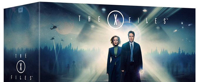 Fox officially sets The X-Files: Complete BD for 12/8, with all 9 seasons, extras & room for the new series!