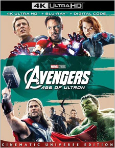 The Avengers: Age of Ultron (4K Ultra HD)