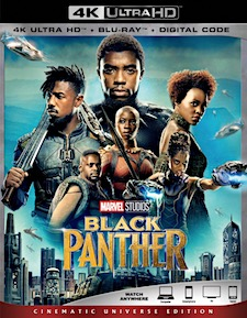 Black Panther (4K Ultra HD Blu-ray)