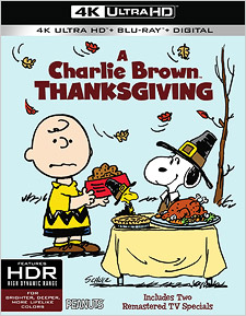 A Charlie Brown Thanksgiving (4K Ultra HD Blu-ray)