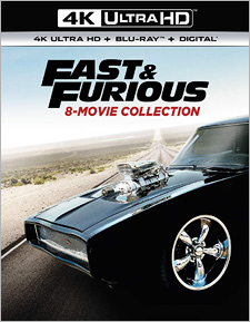Fast & Furious: 8-Movie Collection (4K Ultra HD)