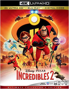 The Incredibles 2 (4K Ultra HD)