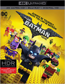 The LEGO Batman Movie (4K Ultra HD Blu-ray)