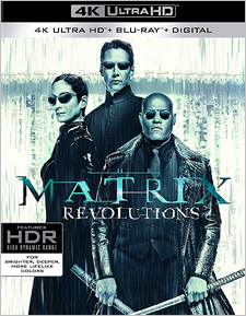 The Matrix Revolutions (4K Ultra HD Blu-ray)