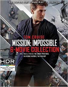 Mission: Impossible 6-Film Collection (4K Ultra HD)