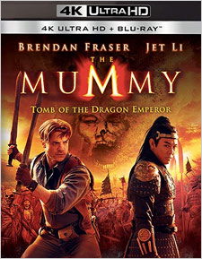 The Mummy: Tomb of the Dragon Emperor (4K Ultra HD Blu-ray)