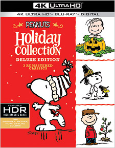 The Peanuts Holiday Collection (4K Ultra HD Blu-ray)