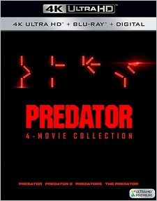 Predator: 4-Film Collection (4K Ultra HD)