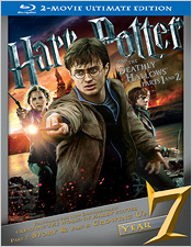 Harry Potter and the Deathly Hallows: Parts 1 & 2 - Ultimate Edition (Blu-ray Disc)