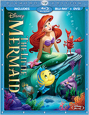 The Little Mermaid: Diamond Edition (Blu-ray Disc)