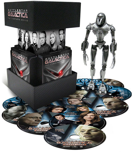 Battlestar Galactica: The Complete Series (Original Blu-ray Packaging)