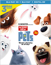 The Secret Life of Pets (Blu-ray 3D)