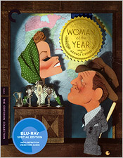 Woman of the Year (Criterion Blu-ray Disc)