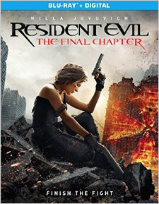 Resident Evil: The Final Chapter (Blu-ray Disc)