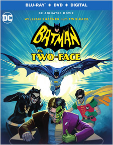 Batman vs Two-Face (Blu-ray Disc)