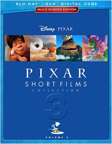 The Pixar Short Films Collection: Volume 3 (Blu-ray Disc)