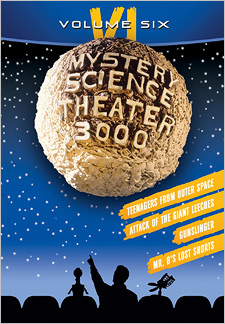 Mystery Science Theater 3000: Volume VI (DVD)