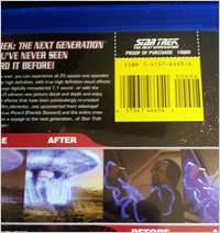 Fixed Star Trek: TNG - Season 1 packaging