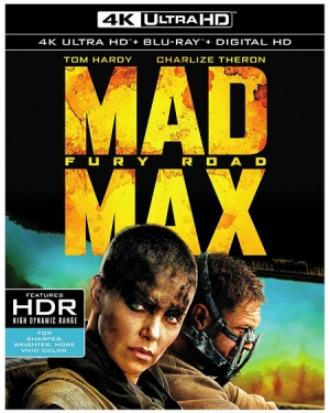 Warner's Mad Max: Fury Road 4K UHD