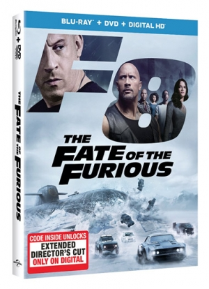The Fate of the Furious (Blu-ray Disc)