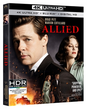 Allied 4K Ultra HD Blu-ray