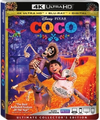Disney and Pixar's Coco (4K Ultra HD)