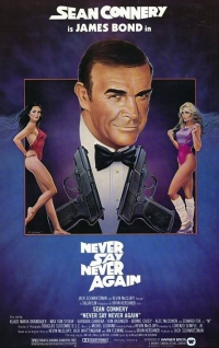 Never Say Never Again one sheet