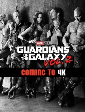 Guardians of the Galaxy, Vol. 2 coming to 4K Ultra HD