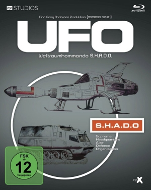 Gerry Anderson's UFO on BD in Germany