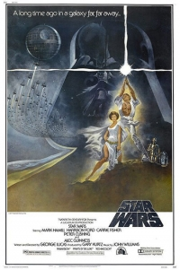 "Star Wars ""Style A"" one sheet"