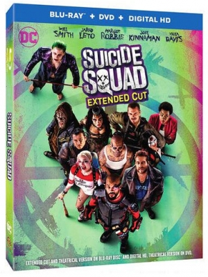 Suicide Squad: Extended Cut (Blu-ray Disc)