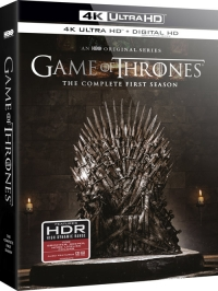 HBO's Game of Thrones: The Complete First Season (4K Ultra HD)